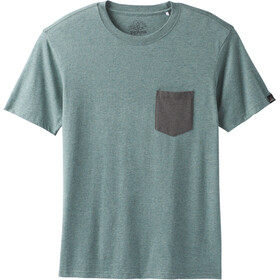 Prana M's Pocket Tee Starling Green Heather